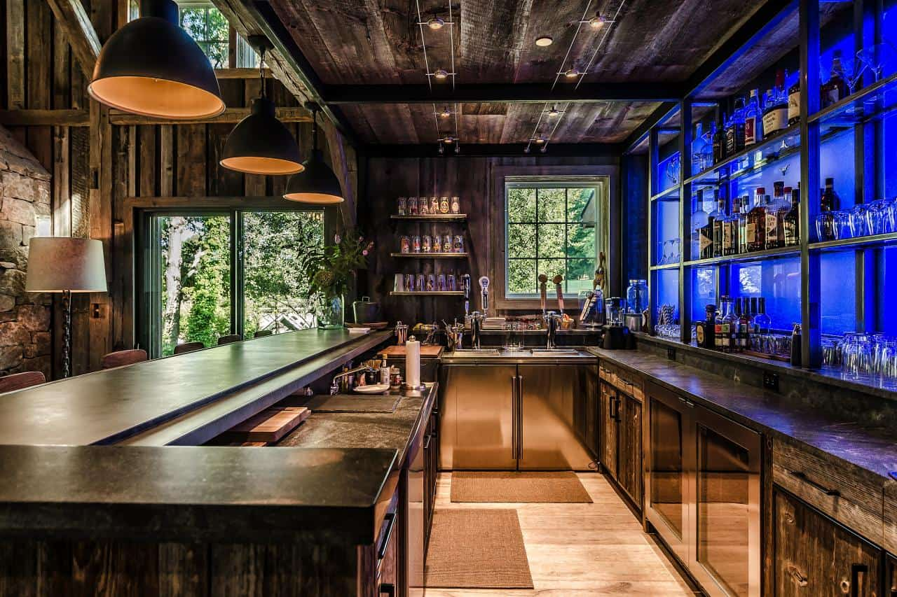Best Home Bar Ideas For A Modern Entertainment Space This Month