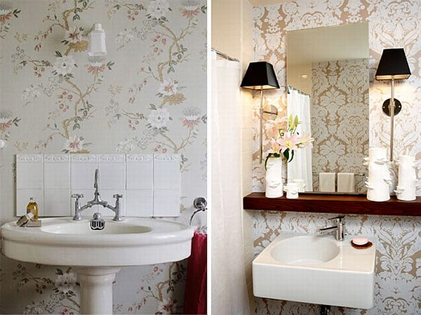 Best How To Add Elegance To A Bathroom With Wallpapers This Month