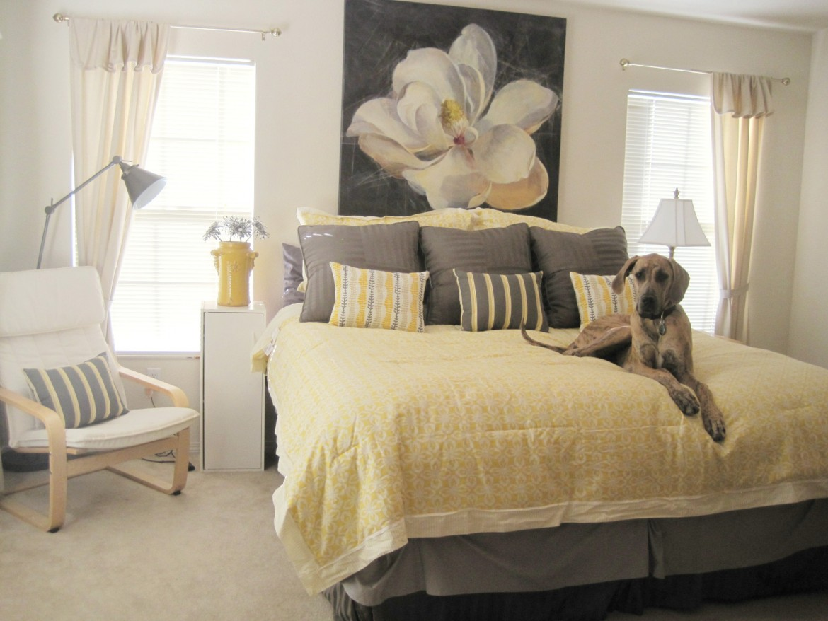 Best Yellow And Gray Bedding That Will Make Your Bedroom Pop This Month
