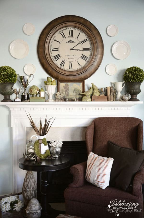 Best My November Mantel How To Decorate A Mantel Series This Month