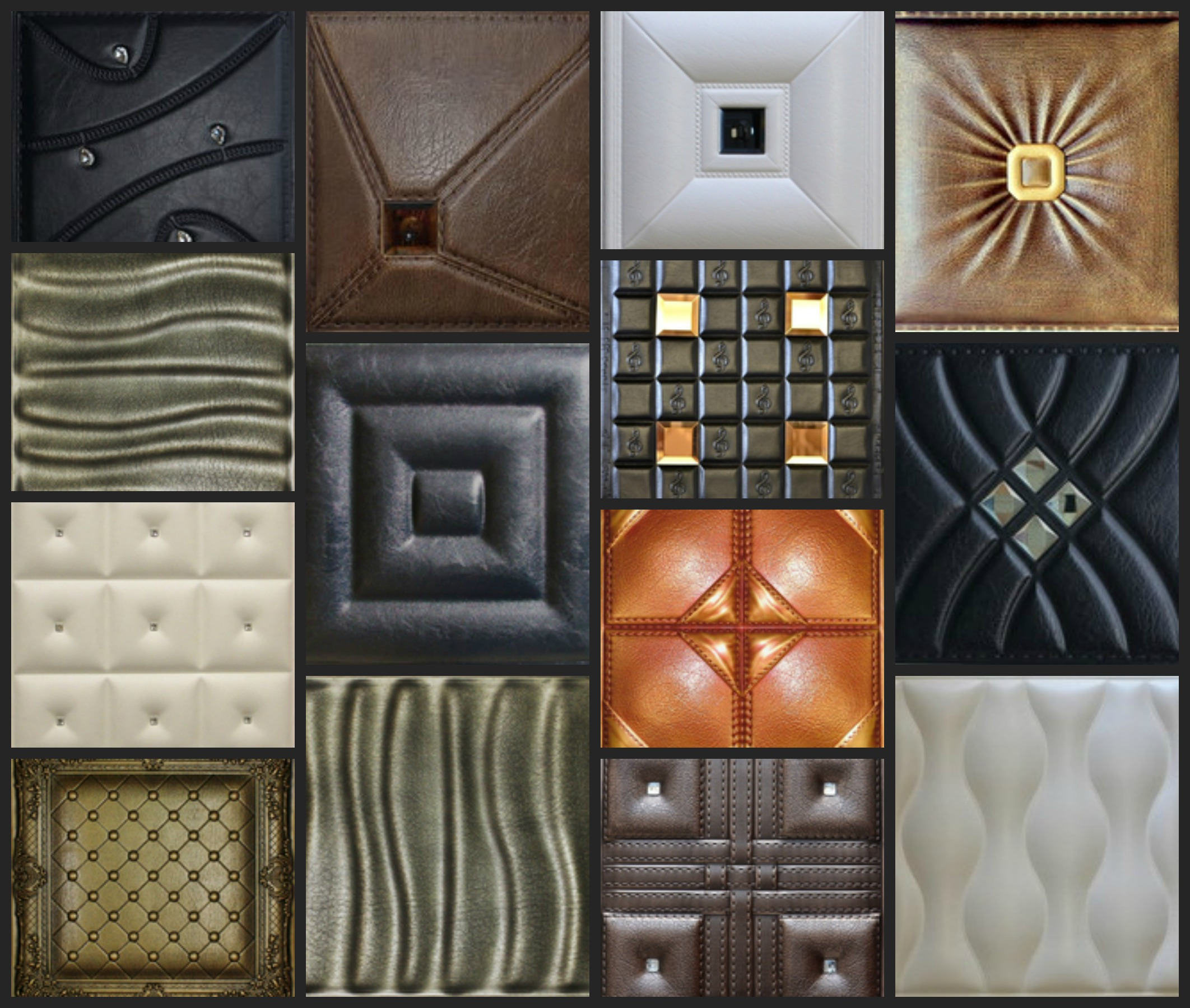 Best Faux Leather Decorative Tiles For Walls Ceilings This Month