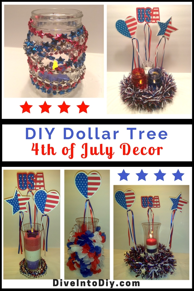 Best Diy Dollar Tree 4Th Of July Decor Dive Into Diy This Month