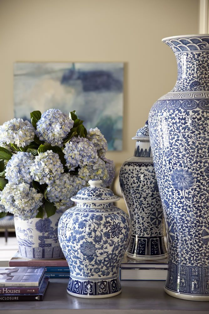 Best Decorating With Blue And White A Perennial Spring This Month