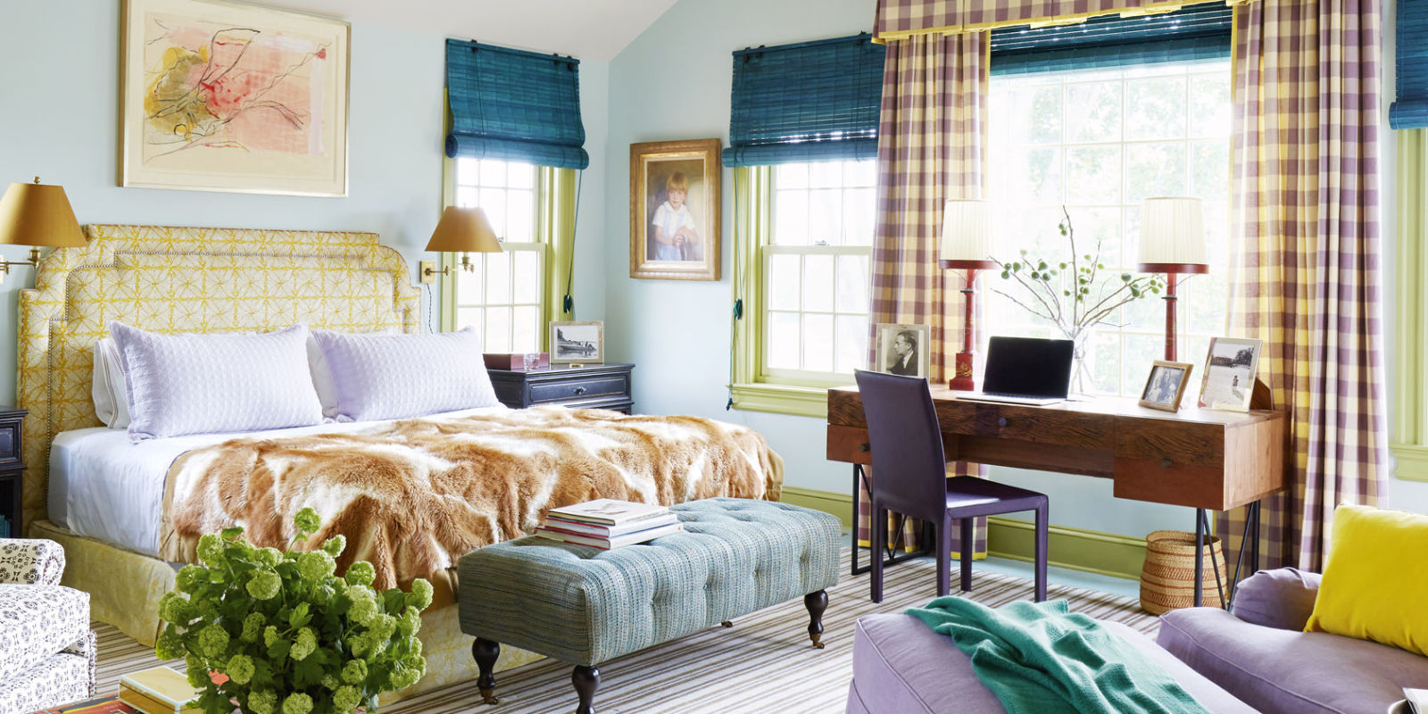 Best Colorful Farmhouse Tour Designed By Jeffrey Bilhuber This Month