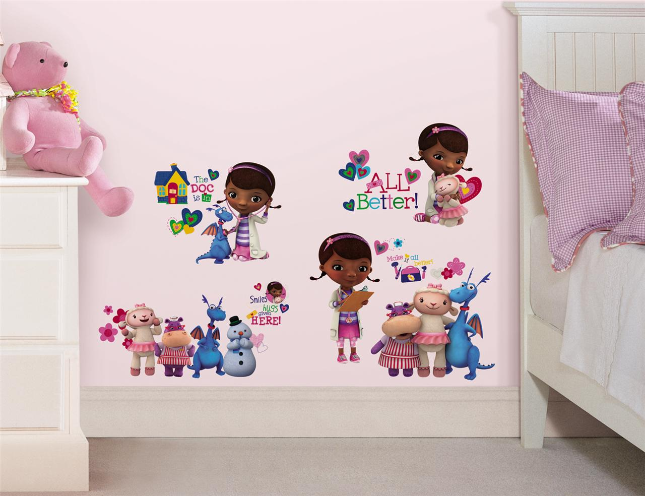 Best 27 New Doc Mcstuffins Wall Decals Disney Bedroom Stickers This Month