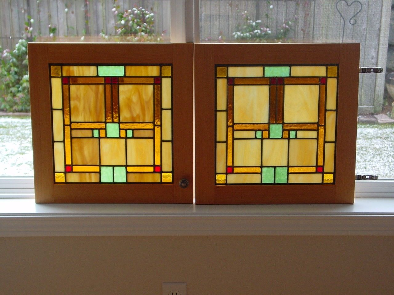 Best Handmade Custom Cabinet Door Stained Glass Panels By This Month
