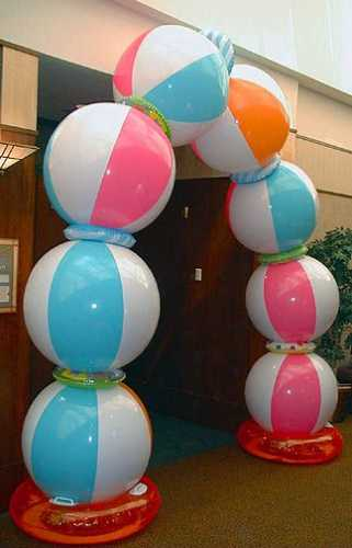 Best Beach Ball Arch – Party Ideas This Month
