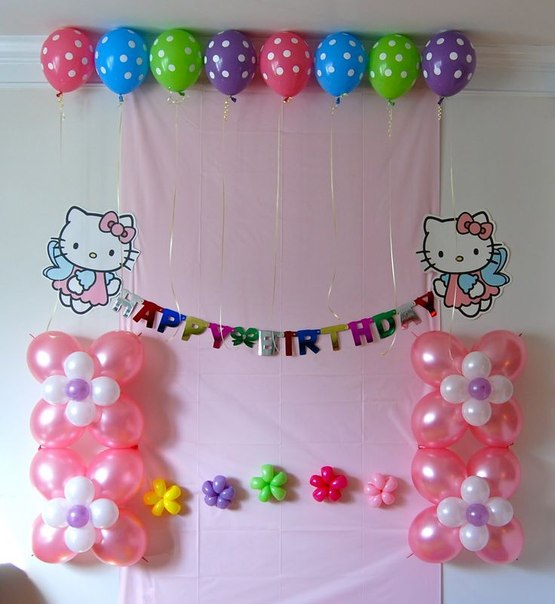 Best Mesas Decoradas Con Globos Para Fiestas Tematica Hello Kitty This Month