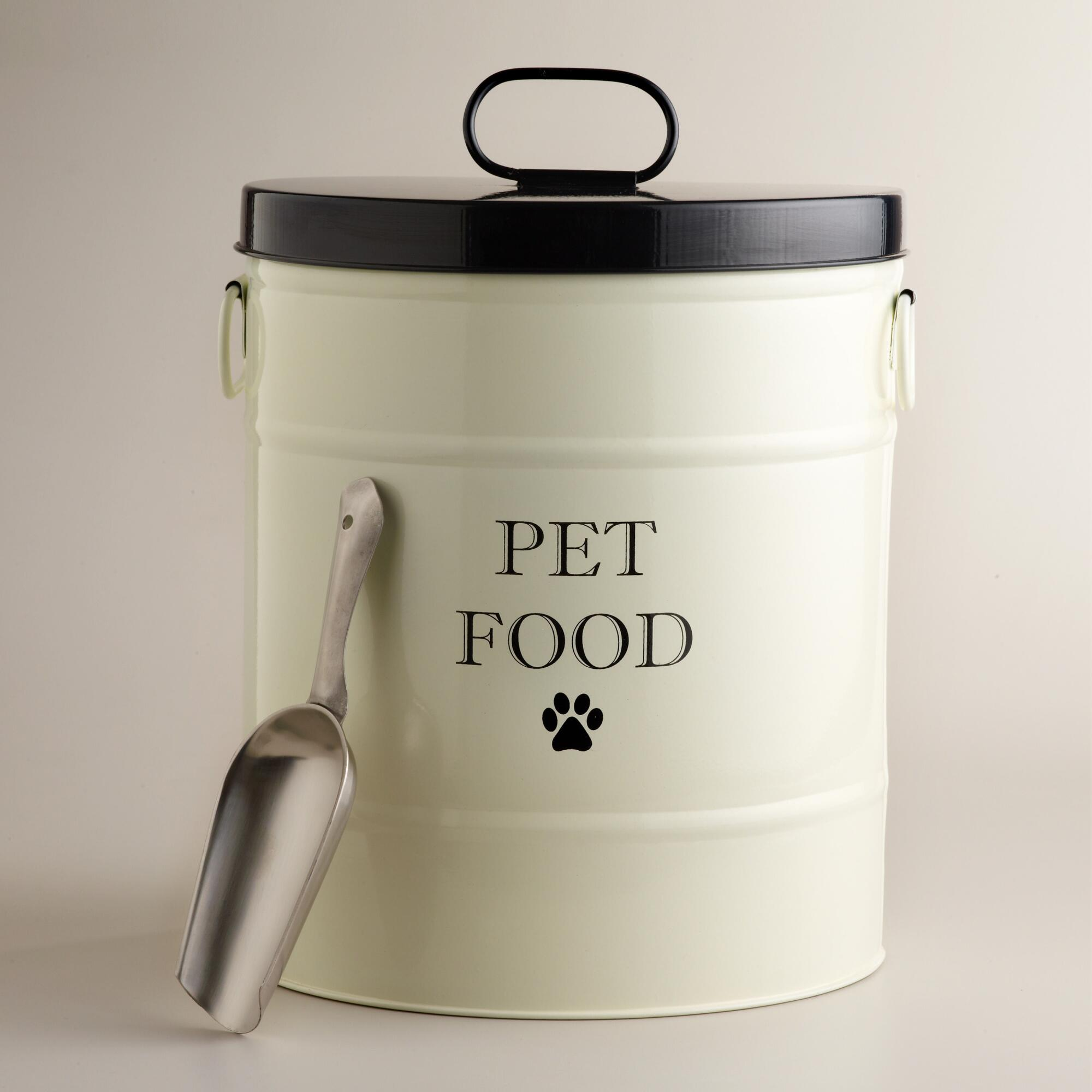 Best Pet Food Canister With Scoop World Market This Month