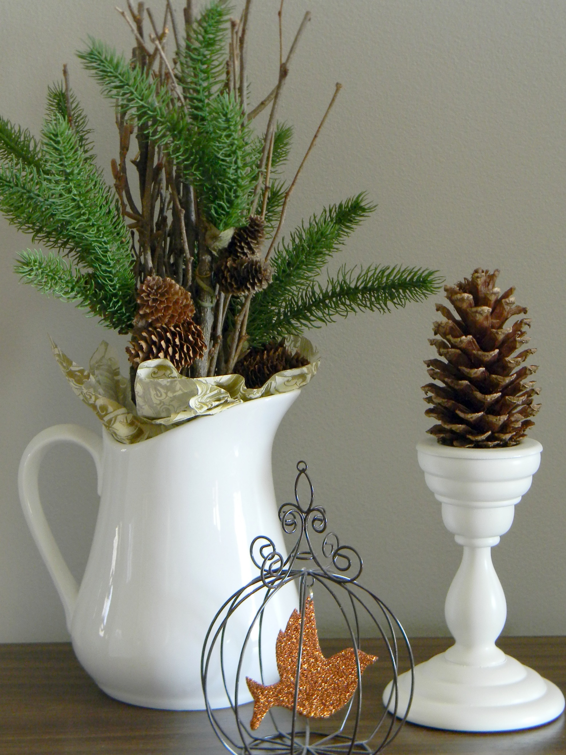 Best Natural Outdoorsy Woodsy Christmas Decor Organize And This Month
