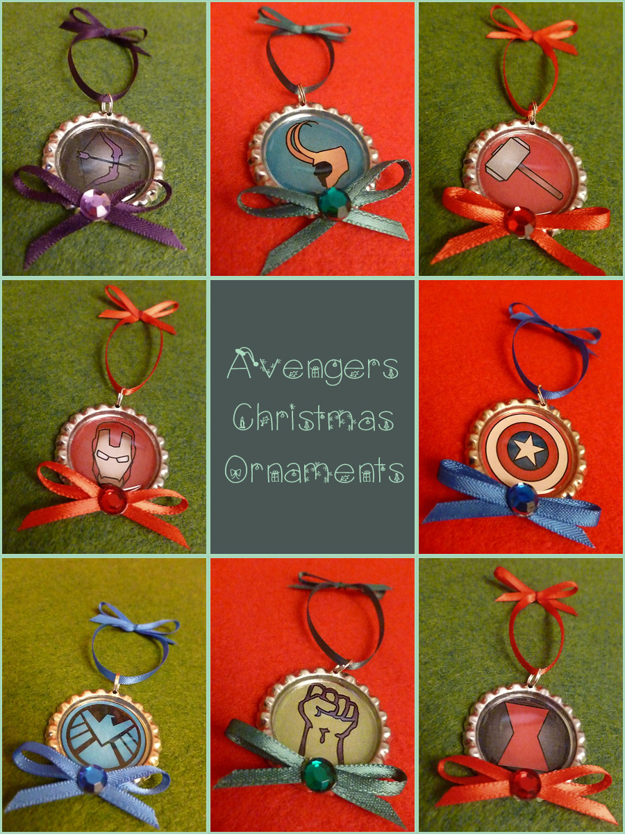 Best Avengers Christmas Ornaments By Monostache On Deviantart This Month