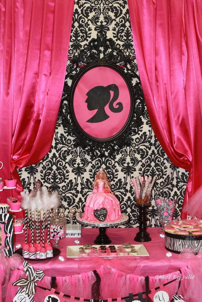 Best Vintage Barbie Birthday Party Ideas Photo 2 Of 19 This Month