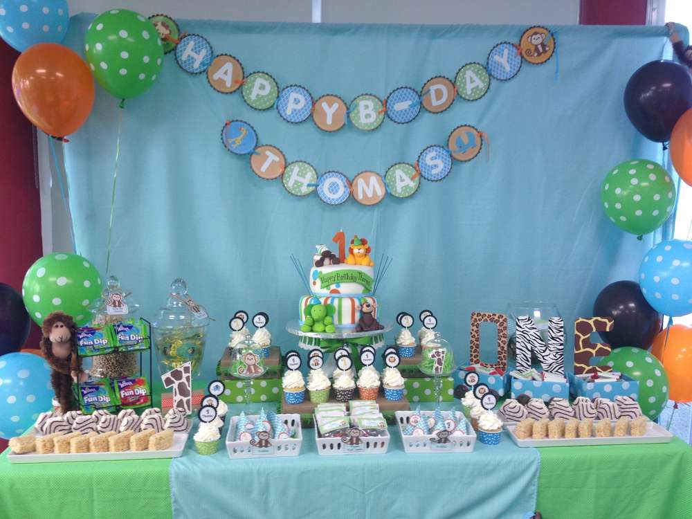 Best Baby Safari Birthday Party Ideas Photo 1 Of 16 Catch This Month