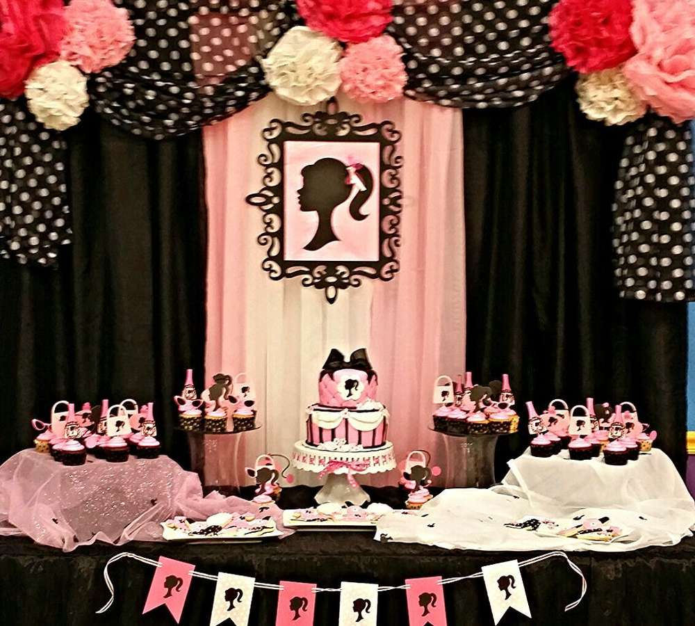 Best Barbie Birthday Party Ideas Photo 2 Of 5 Catch My Party This Month