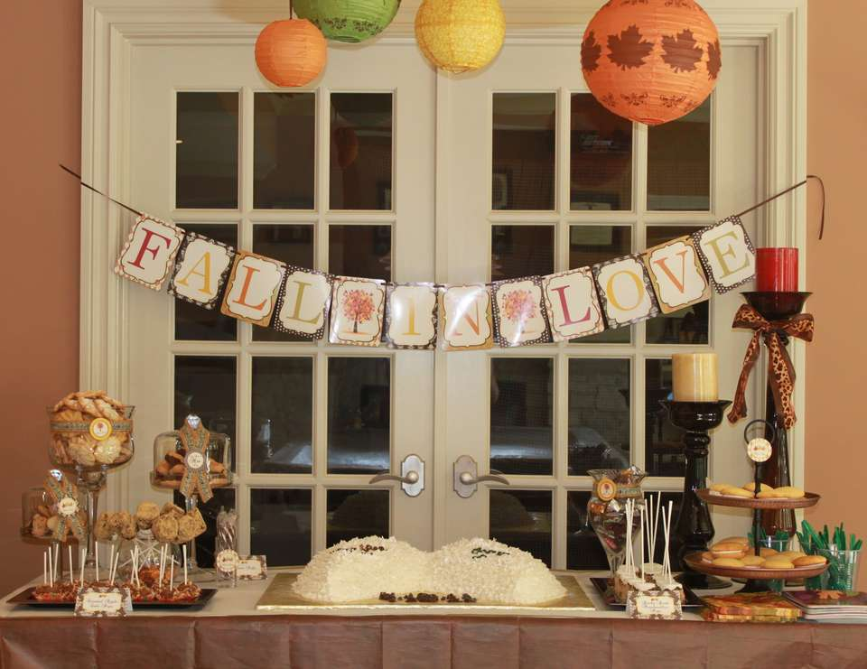 Best Fall In Love Bridal Wedding Shower Fall Harvest Bridal This Month