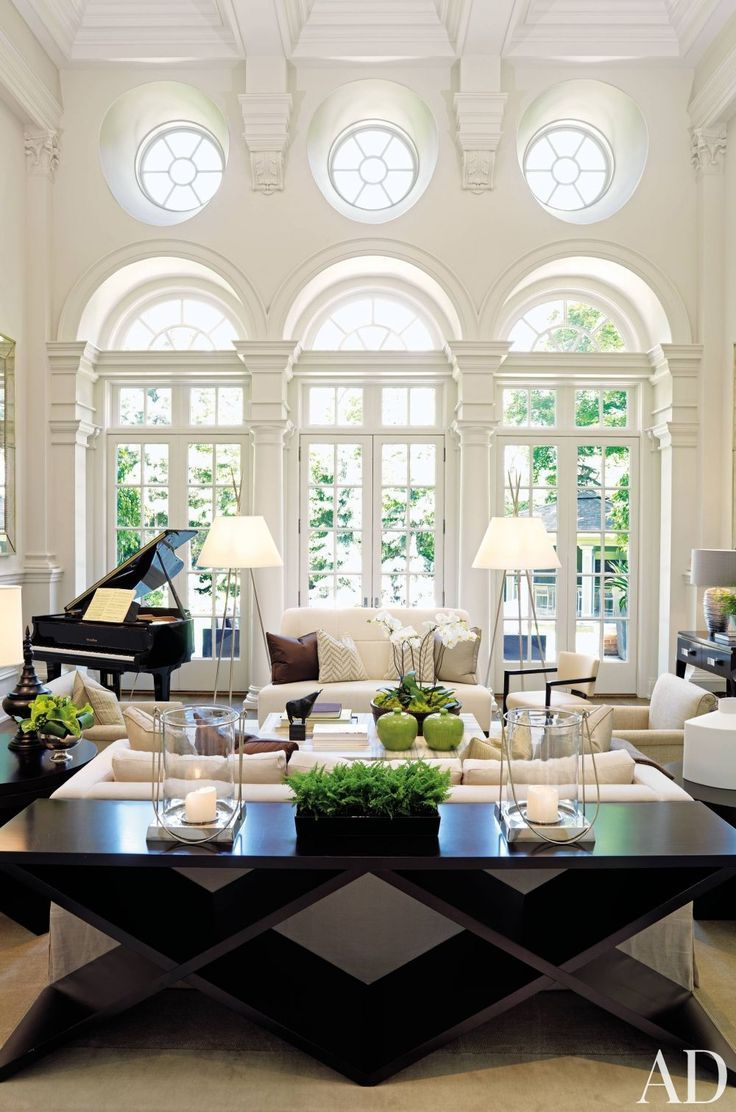 Best Black And White Living Room Interior Design Ideas This Month