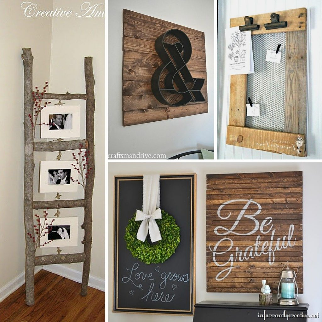 Best 31 Rustic Diy Home Decor Projects Refresh Restyle This Month