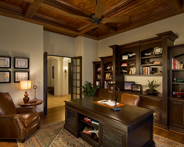 Best Libraries And Offices Traditional Home Office This Month