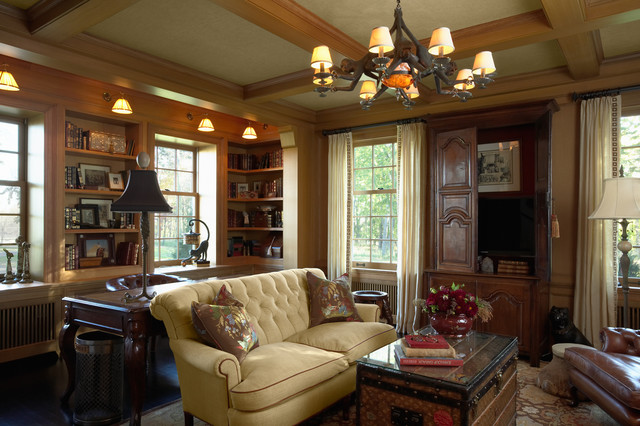 Best Den Traditional Family Room This Month