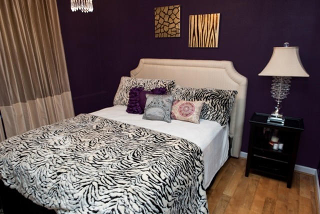 Best Animal Print Guest Bedroom Eclectic Bedroom Dc Metro This Month