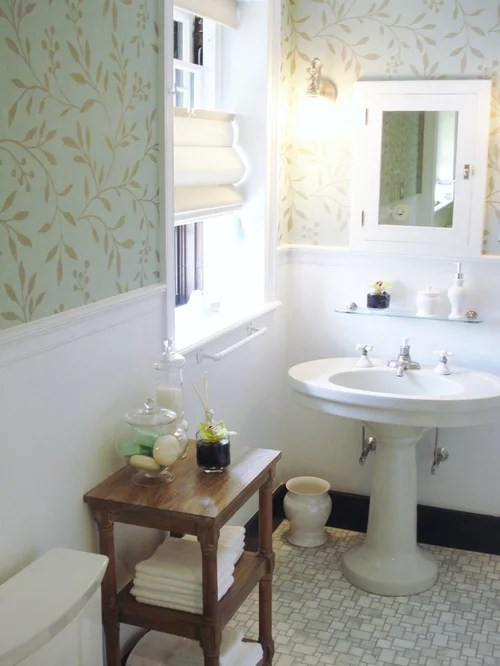 Best Wallpaper In Bathroom Home Design Ideas Pictures Remodel This Month