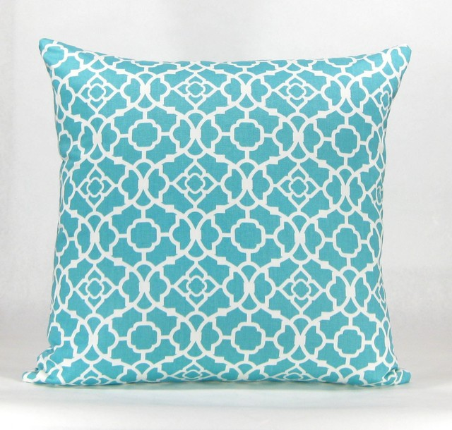 Best Havock Throw Pillow Aqua This Month