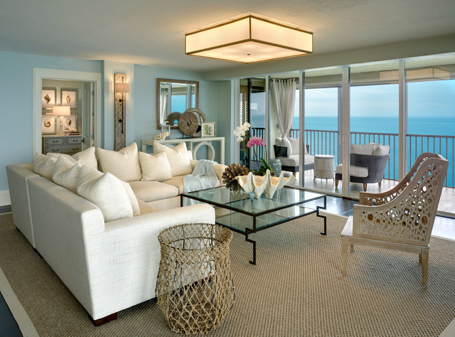 Best Coastal Cottage Condo Beach Style Living Room Other This Month