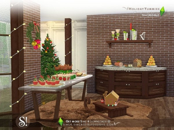 Best The Sims Resource Holiday Yummies Decor By Simcredible This Month