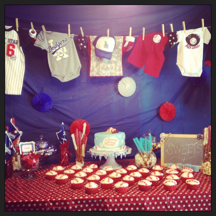 Best Baseball Themes Baby Shower For When The Baby Comes This Month