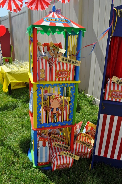 Best Big Top Circus Carnival Party Kara S Party Ideas The This Month