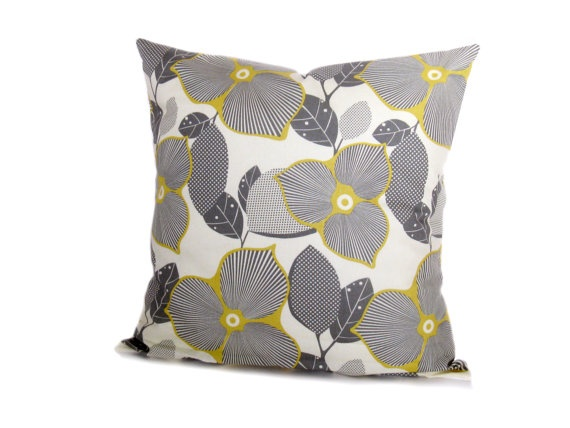 Best Decorative Pillow Yellow And Gray 16X16 Yellow And Gray This Month