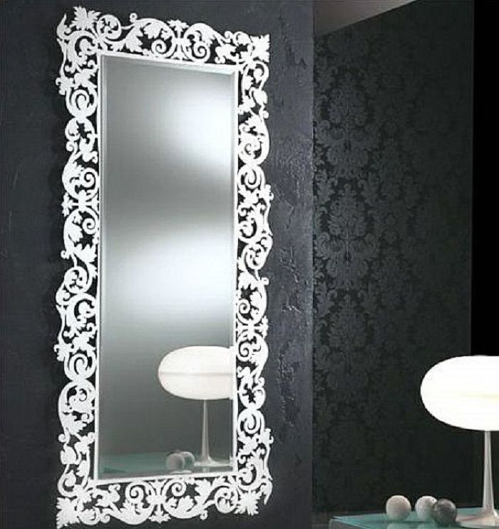 Best Modern Large Decorative Bathroom Mirrors Decorating This Month