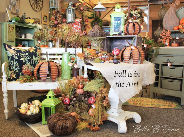 Best Fall Is In The Air At Bella B Decor In Overland Park Ks This Month