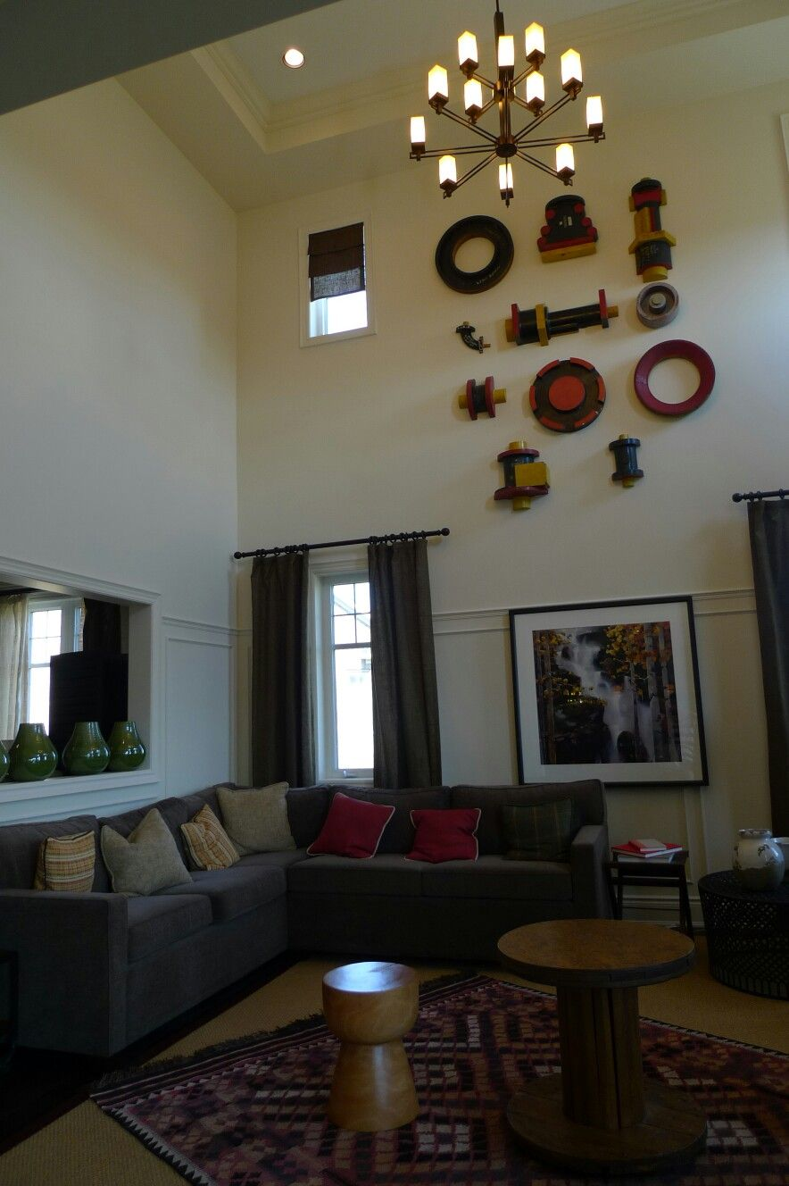 Best High Ceiling With Unique Wall Decor Decor Living Room This Month