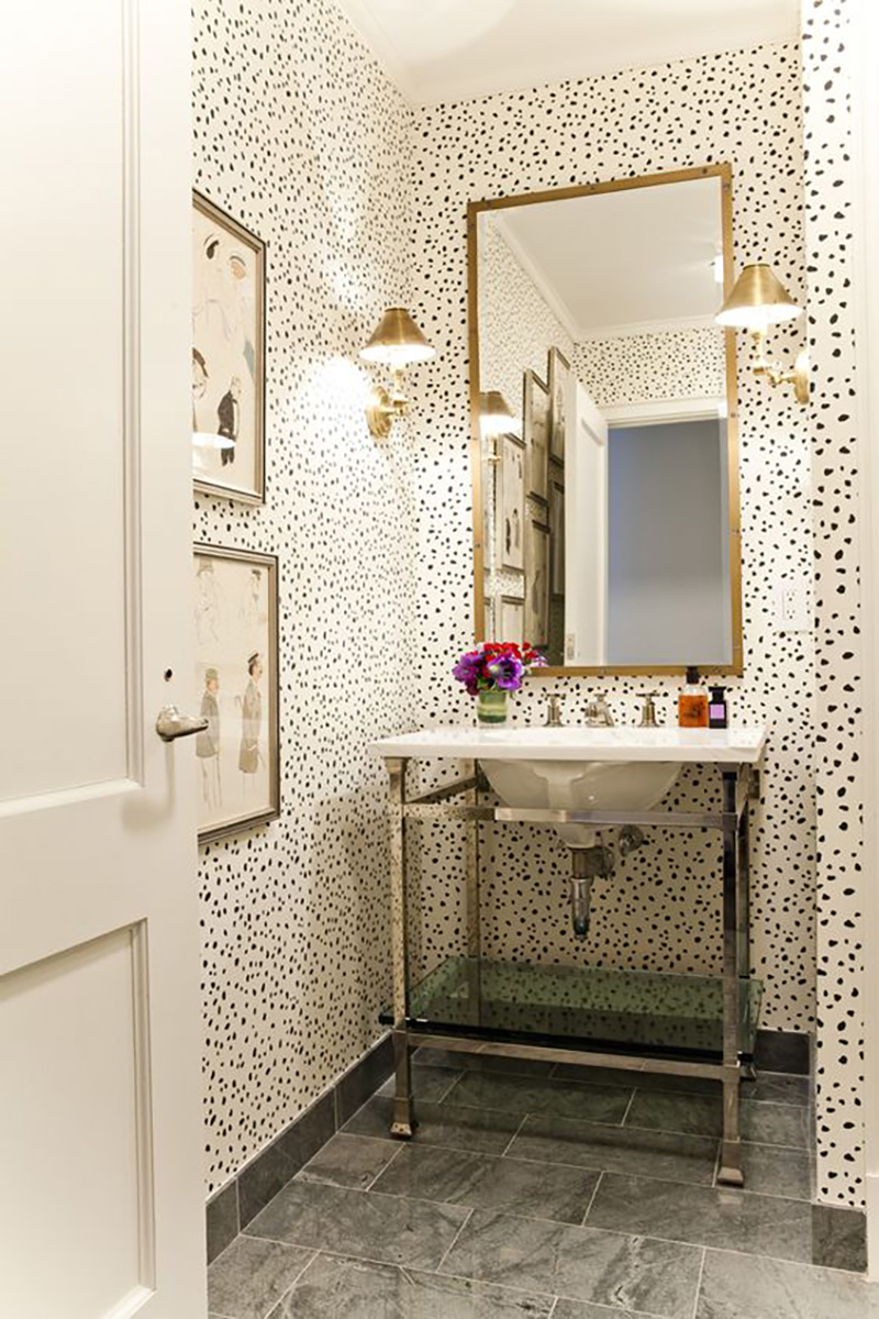 Best Small Powder Room Ideas – Amber Interiors This Month