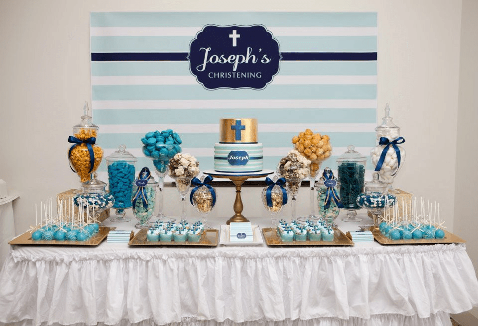 Best Celebrations In The Catholic Home Blue Christening This Month