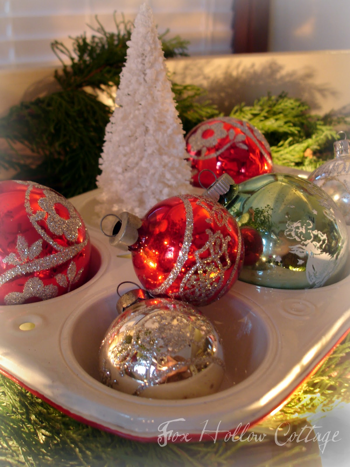 Best Thrifty Christmas Decorating With Cedar Boughs Fox This Month
