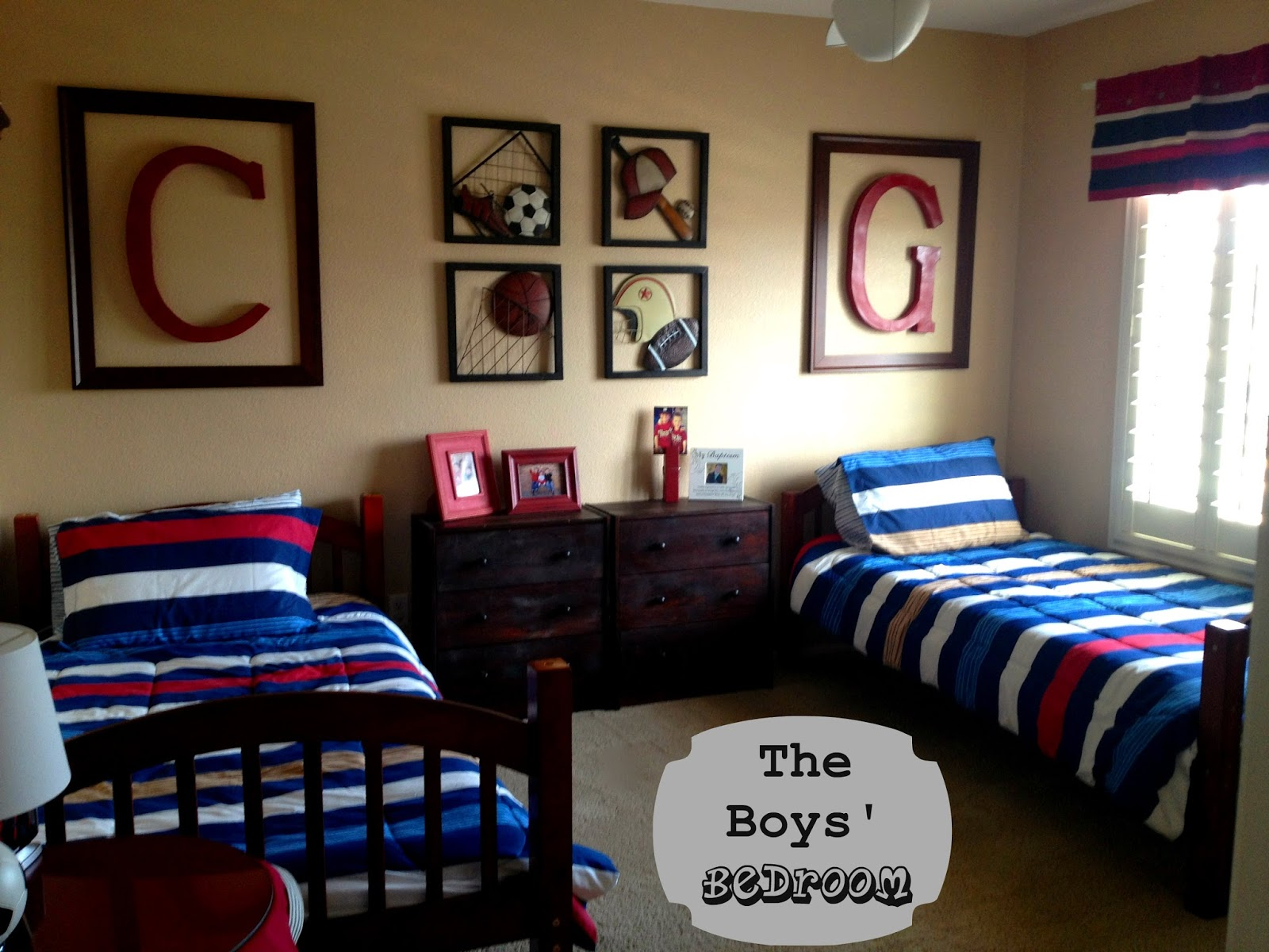 Best Marci Coombs The Boys Sports Themed Bedroom This Month