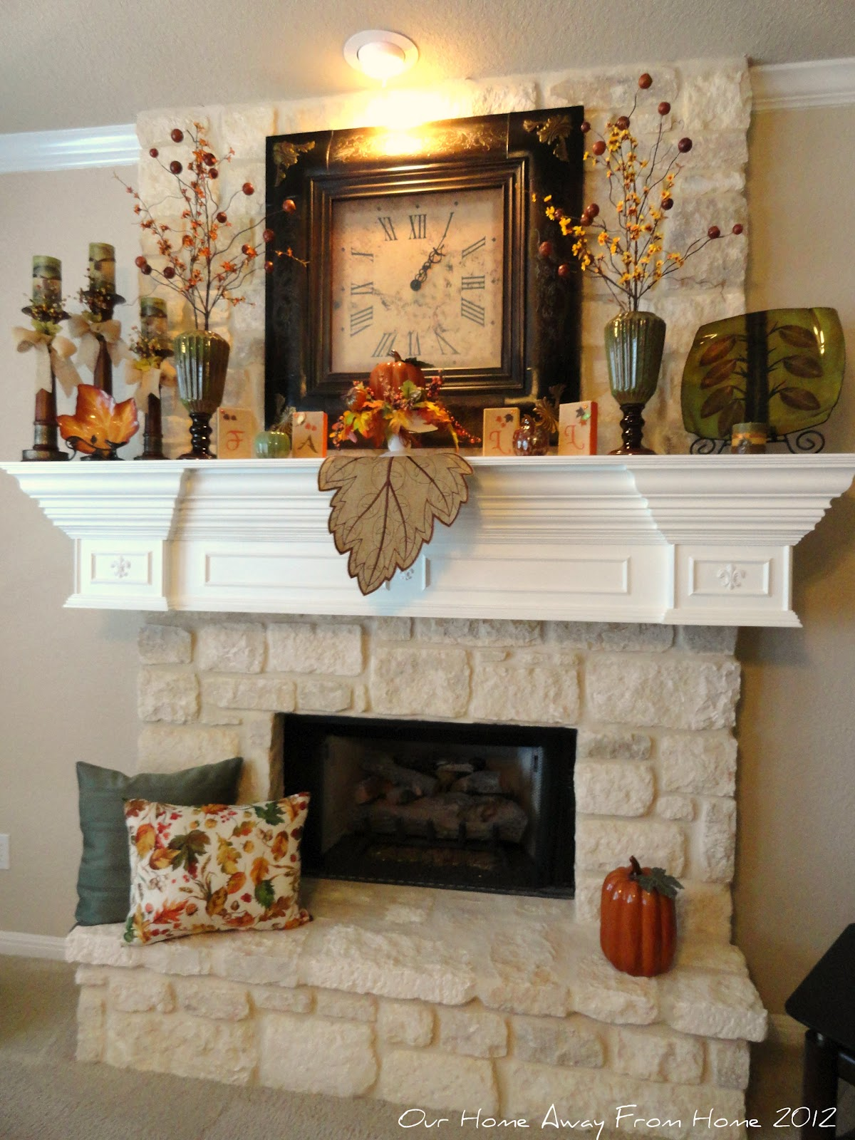 Best Our Home Away From Home Our Fall Mantle 2012 This Month