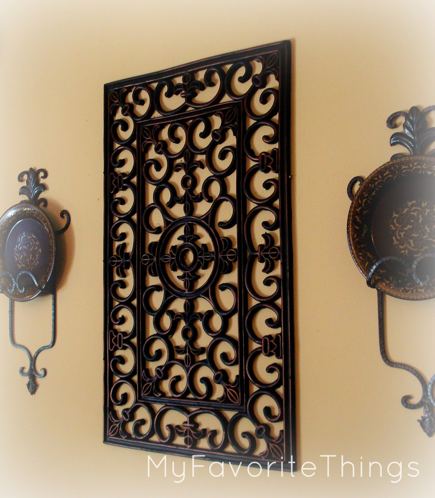 Best My Favorite Things Wrought Iron Wall Art This Month