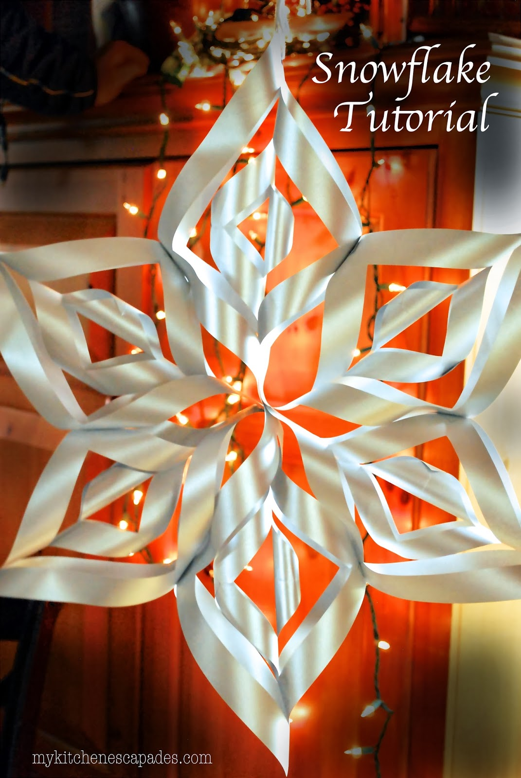 Best Large Paper Snowflake Tutorial This Month