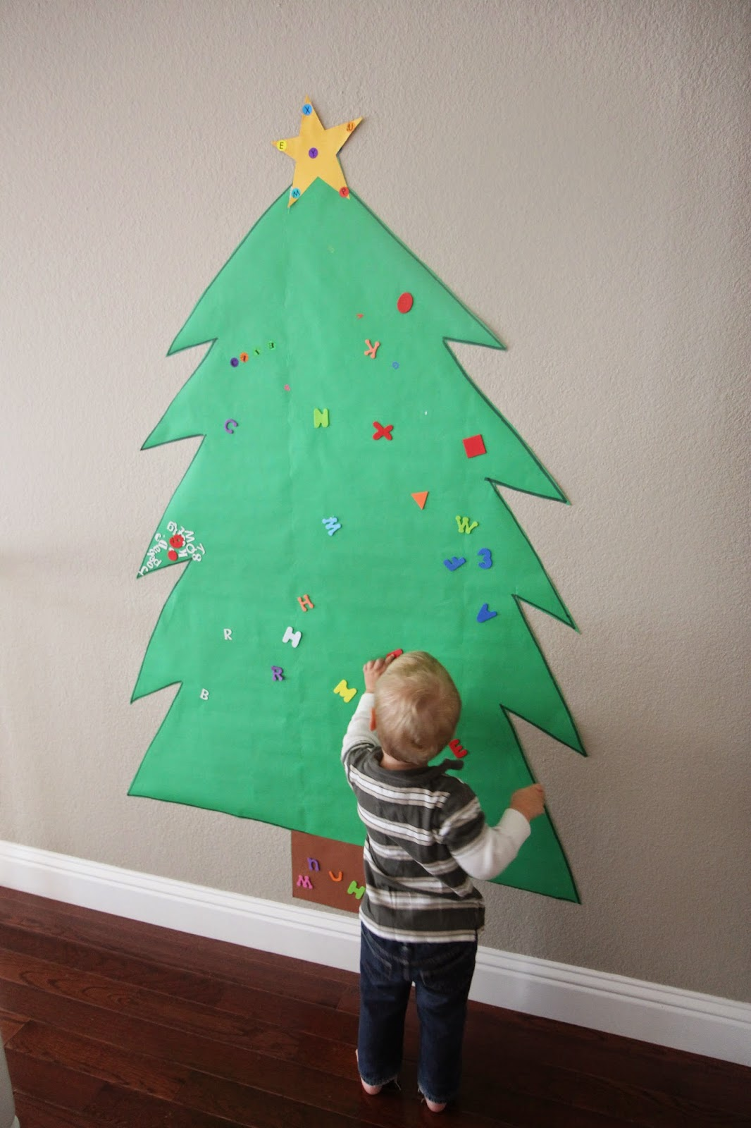 Best Toddler Approved Giant Alphabet Tree For Toddlers And This Month