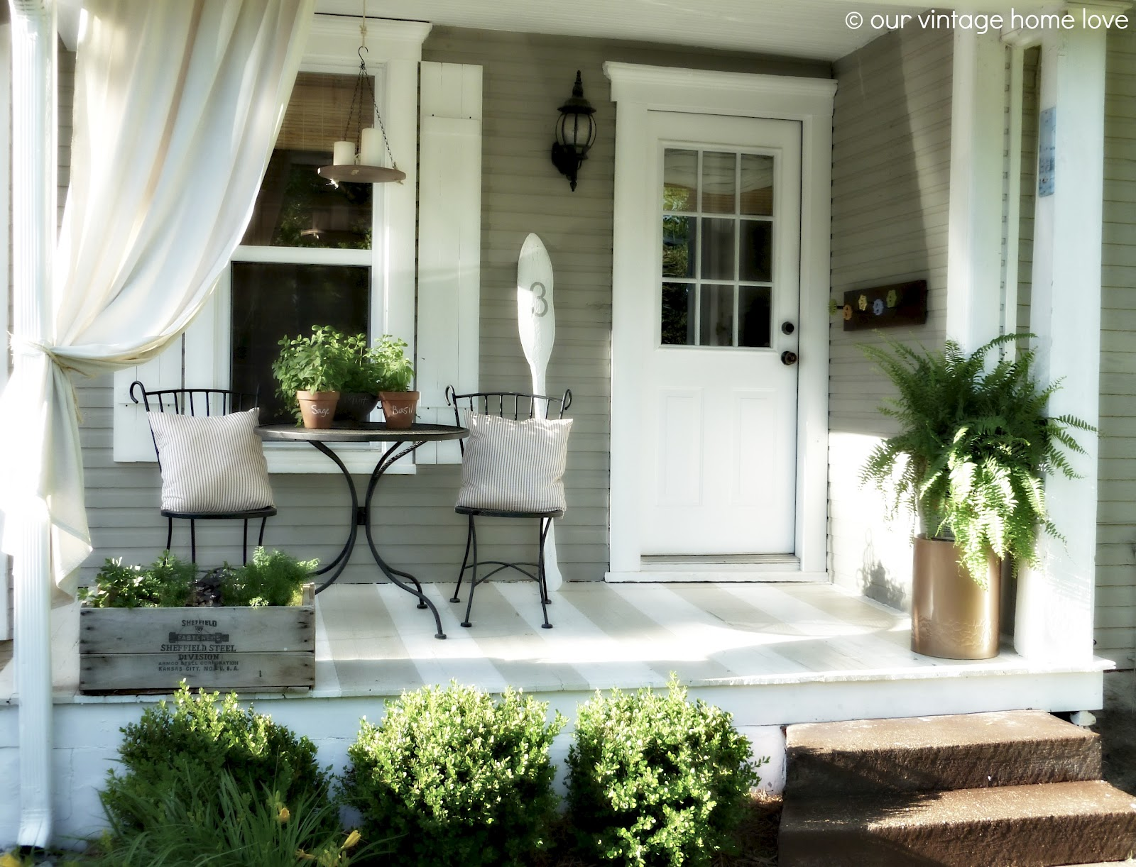 Best Vintage Home Love Back Side Porch Ideas For Summer And An This Month