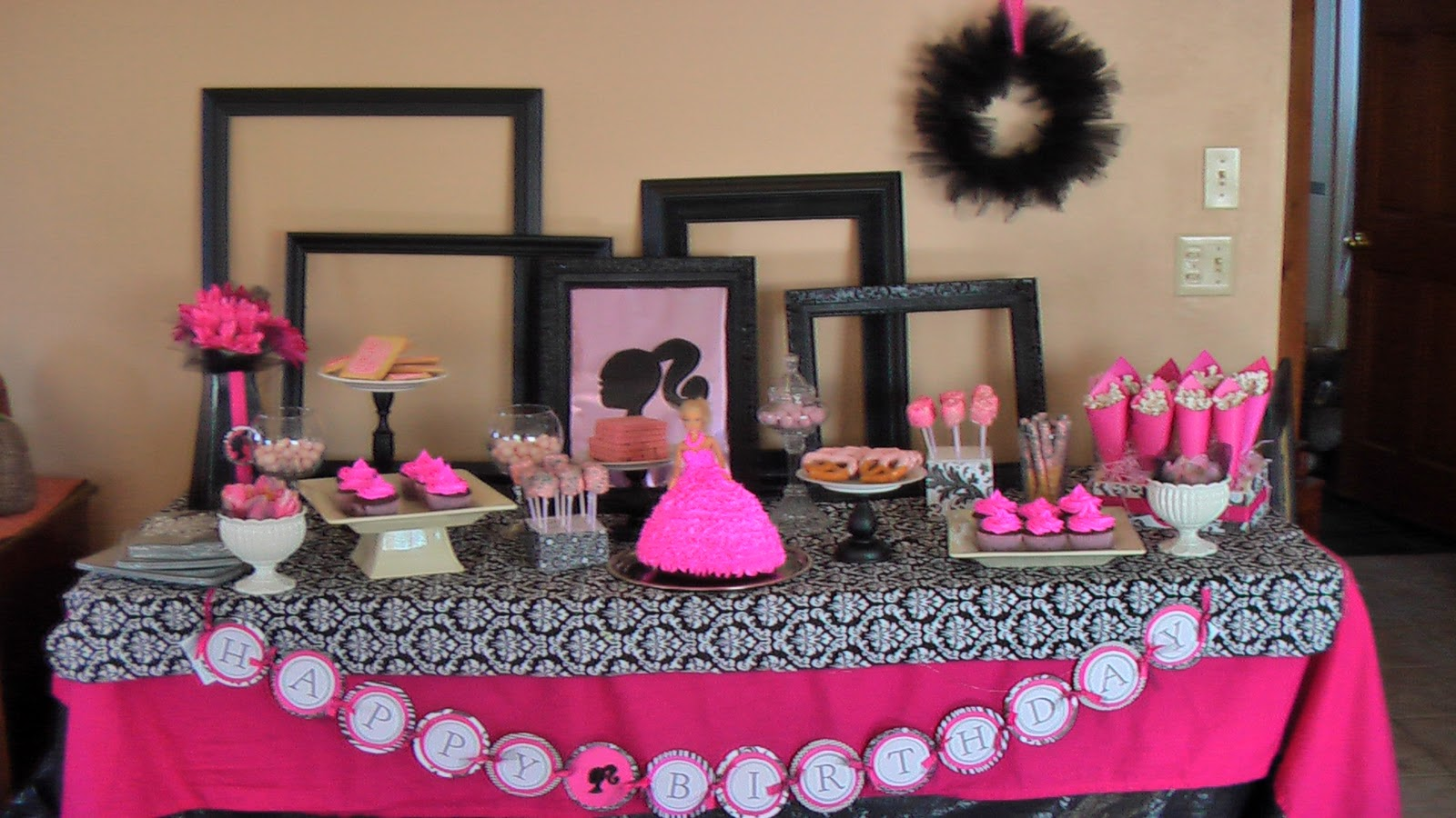 Best Allan Family Aubrie S Barbie Party This Month