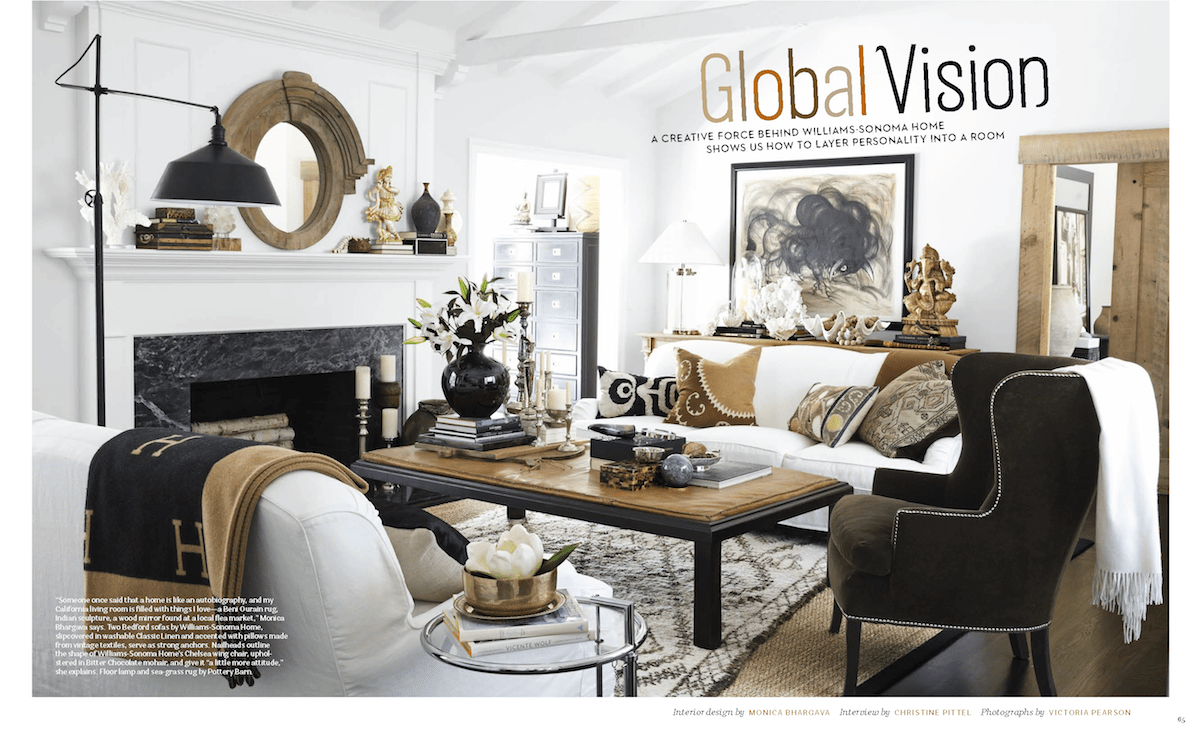 Best A Globally Inspired California Home As Seen In House This Month