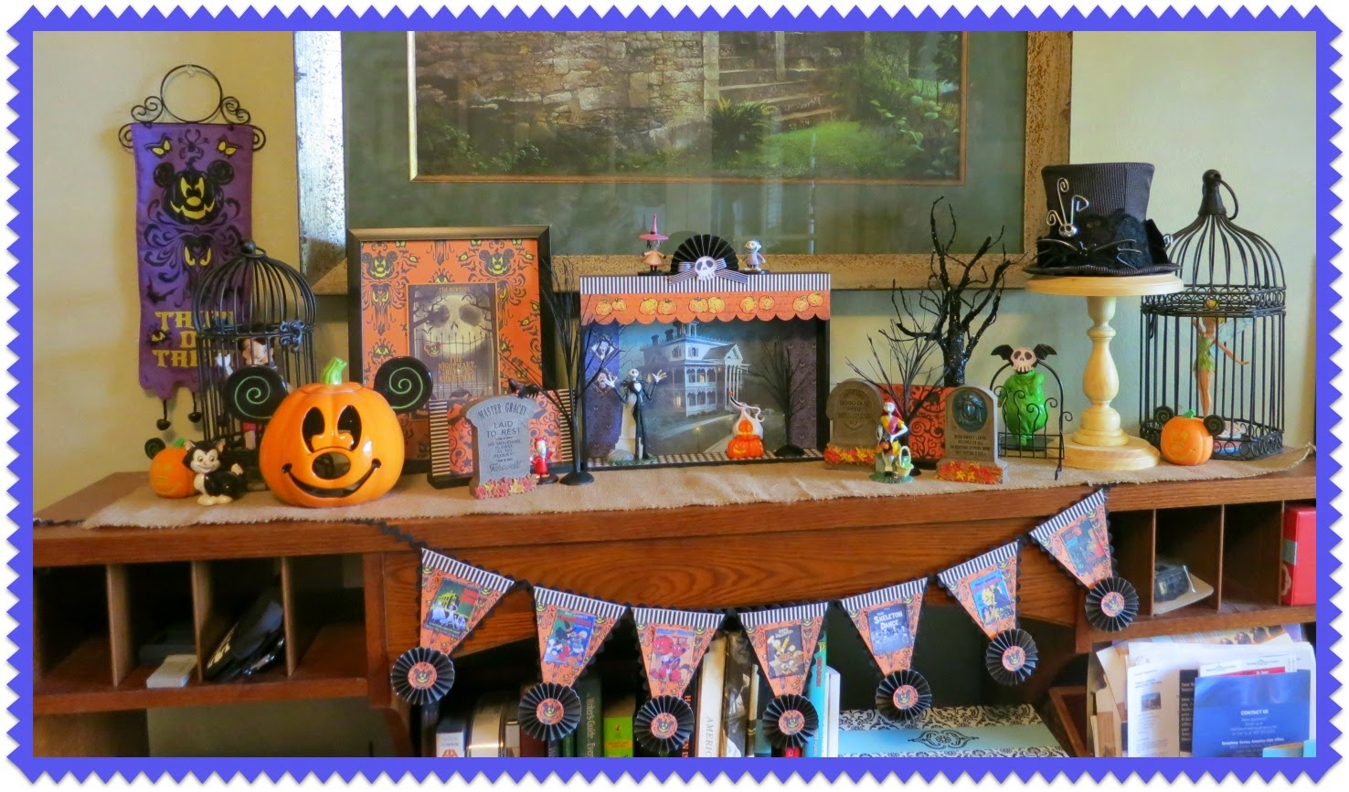 Best Zetta S Aprons Haunted Mansion Shadow Box This Month