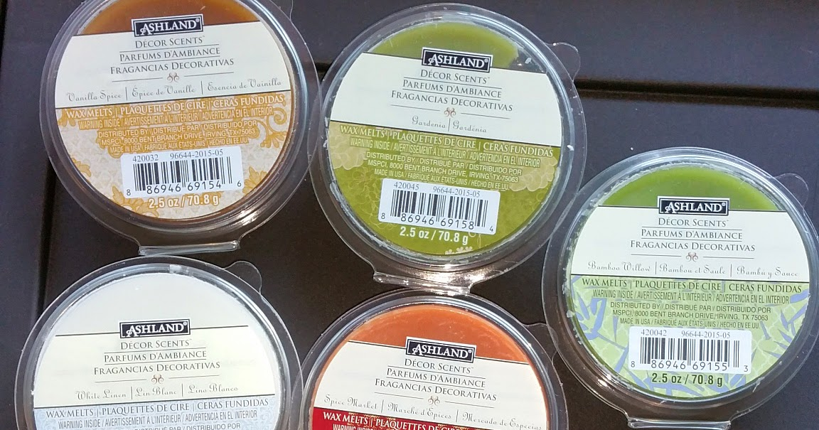 Best Scented Wax Reviews Ashland Decor Scents Wax Melts From This Month