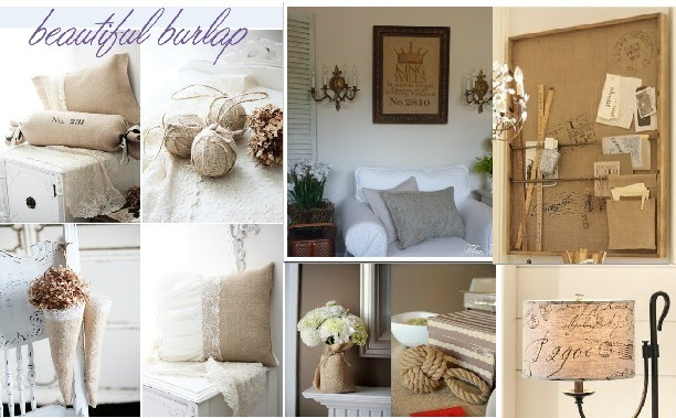 Best Embellish Each Day Using Burlap In Home Decor This Month