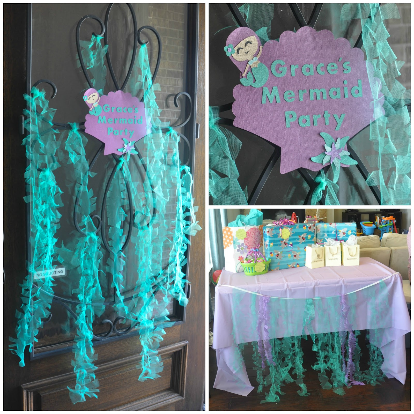 Best These Little Loves Sparkly Mermaid Seaweed A Diy Party This Month