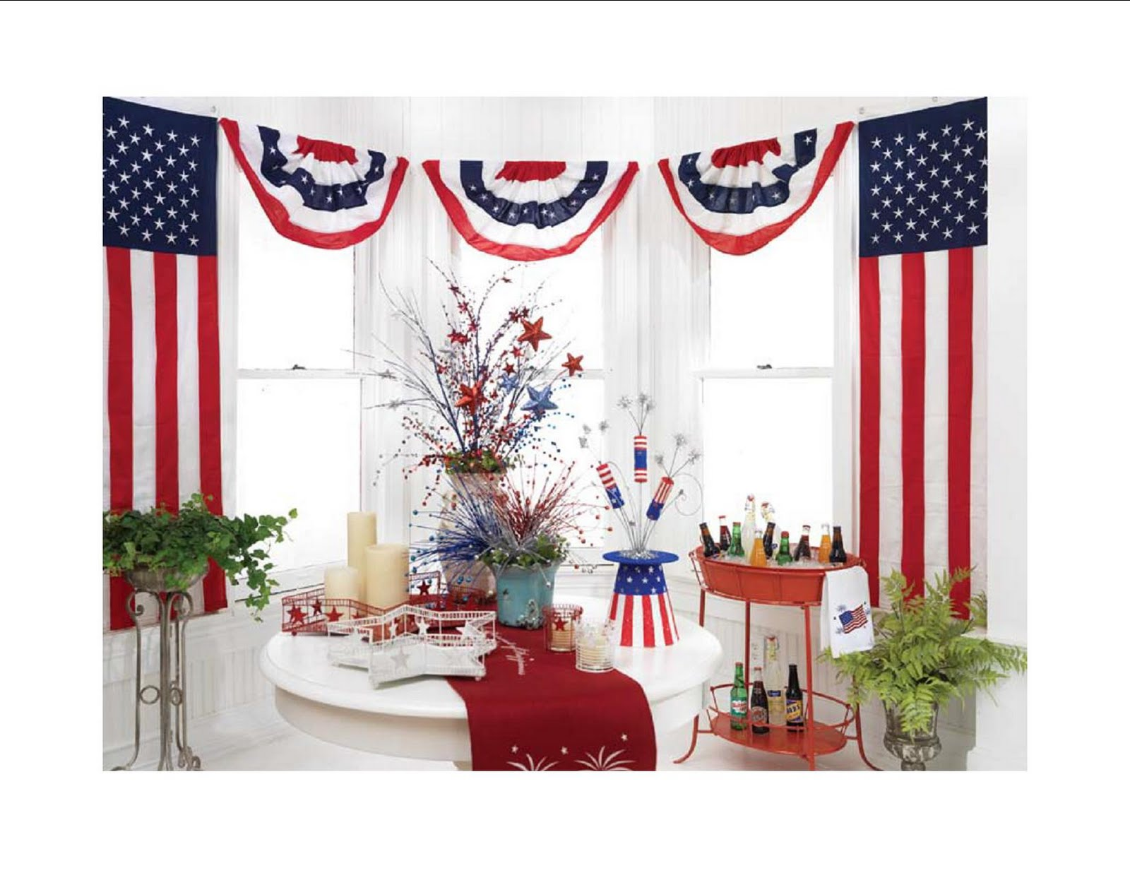 Best Shelley B Decor And More July 4Th Decorations This Month